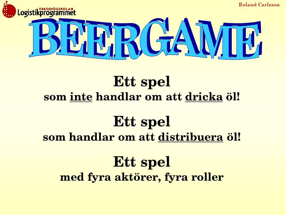 BEERGAME Ett spel som inte handlar om att dricka öl!
