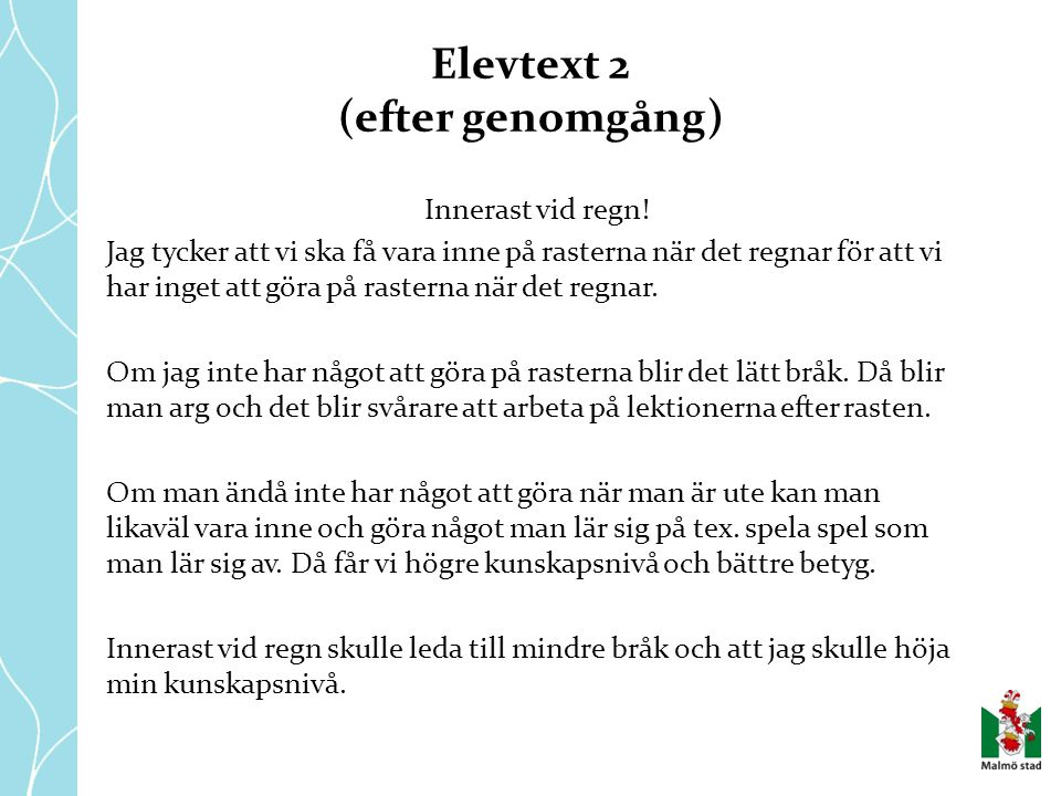Elevtext 2 (efter genomgång)