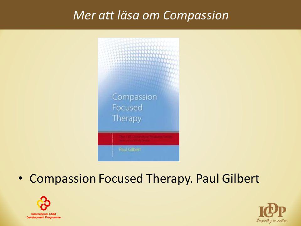 Mer att läsa om Compassion