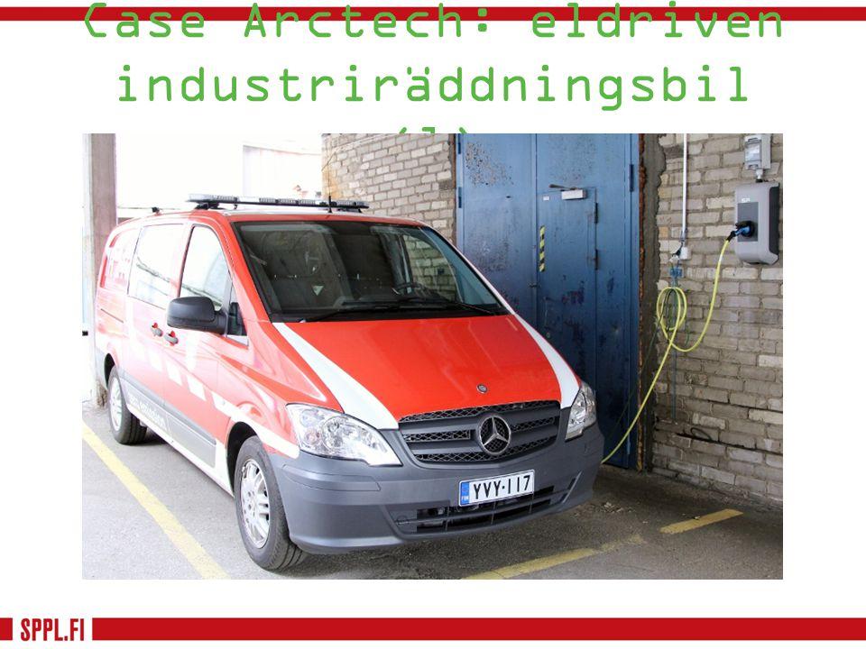Case Arctech: eldriven industriräddningsbil (1)