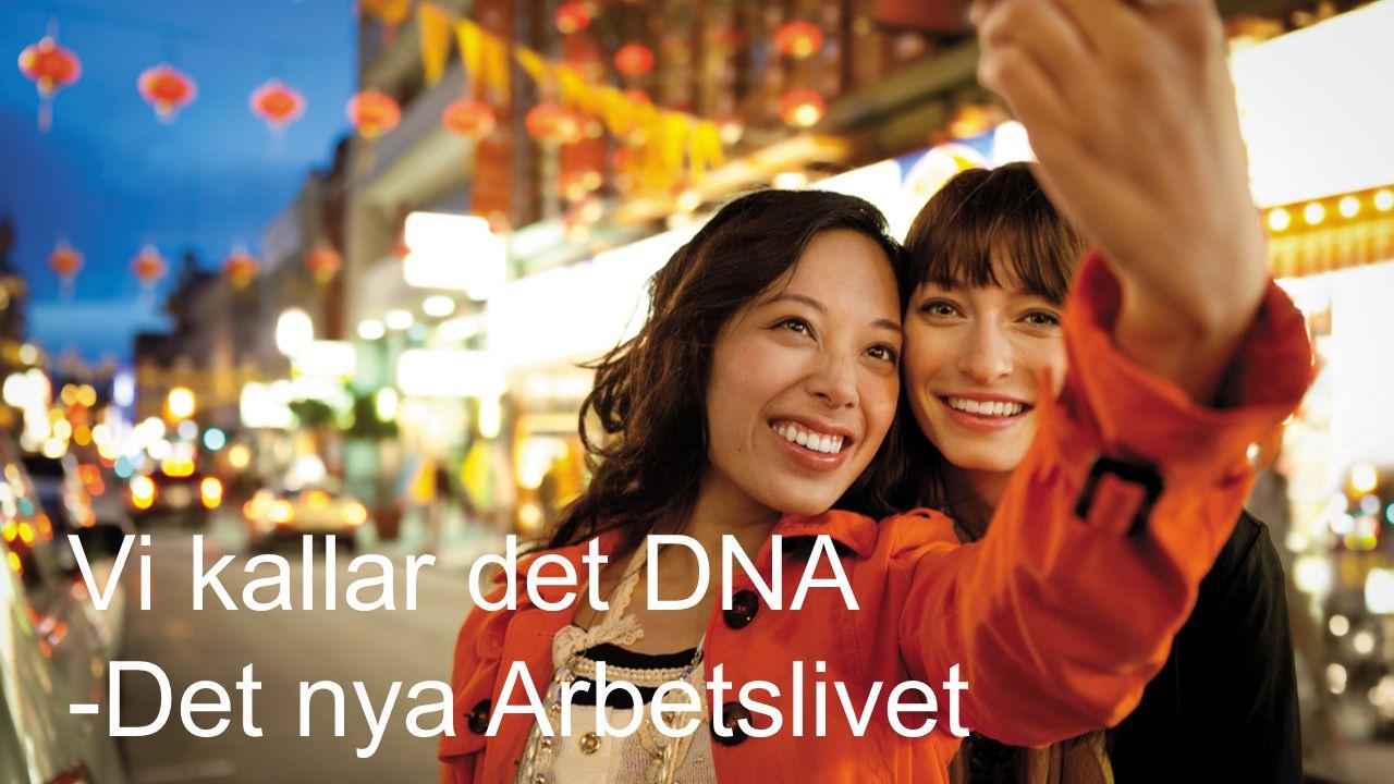 Vi kallar det DNA -Det nya Arbetslivet