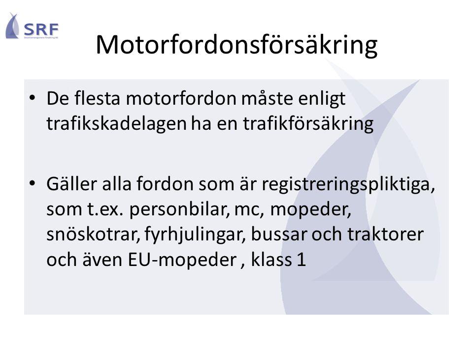 Motorfordonsförsäkring