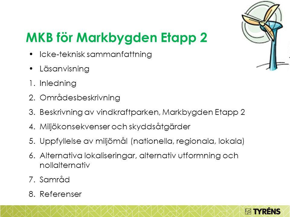 MKB för Markbygden Etapp 2