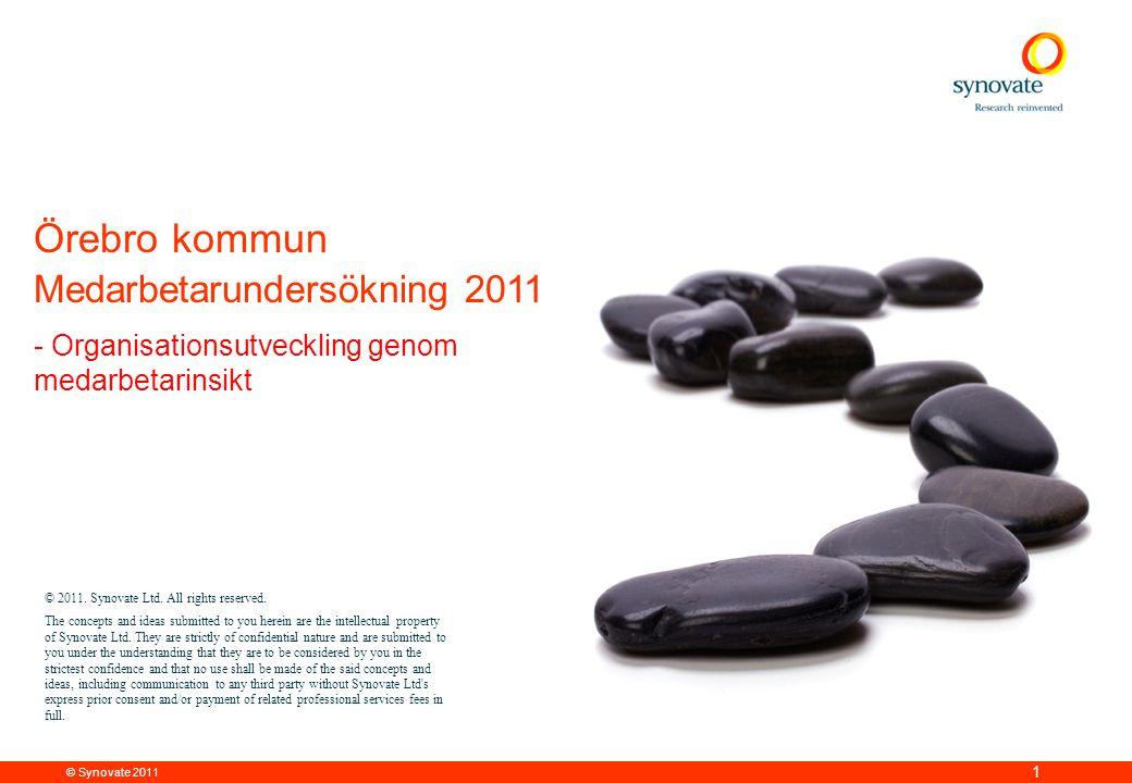 Örebro kommun Medarbetarundersökning 2011