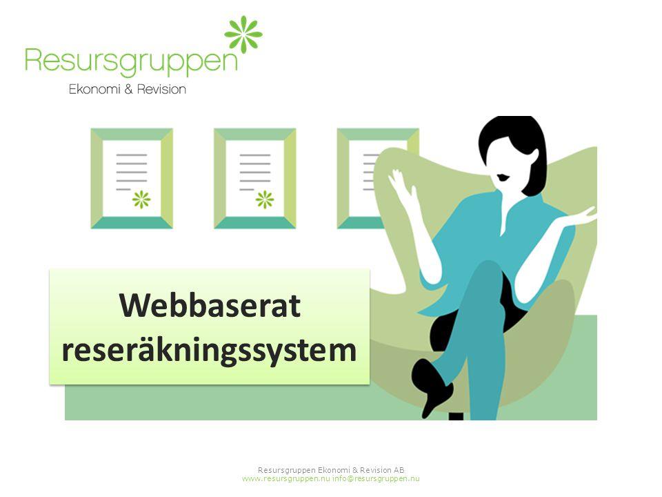 Webbaserat reseräkningssystem