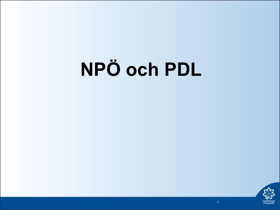 NPÖ och PDL