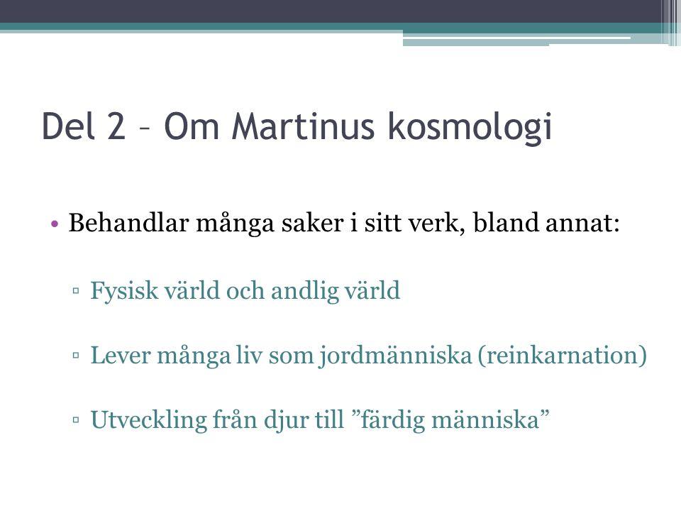 Del 2 – Om Martinus kosmologi