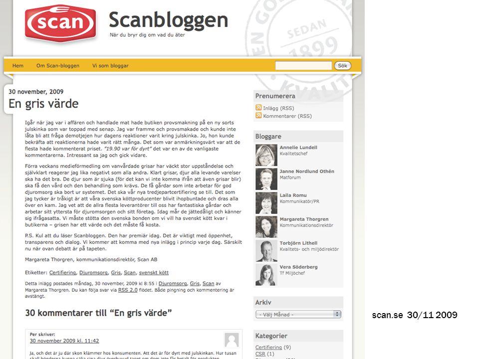 scan.se 30/11 2009