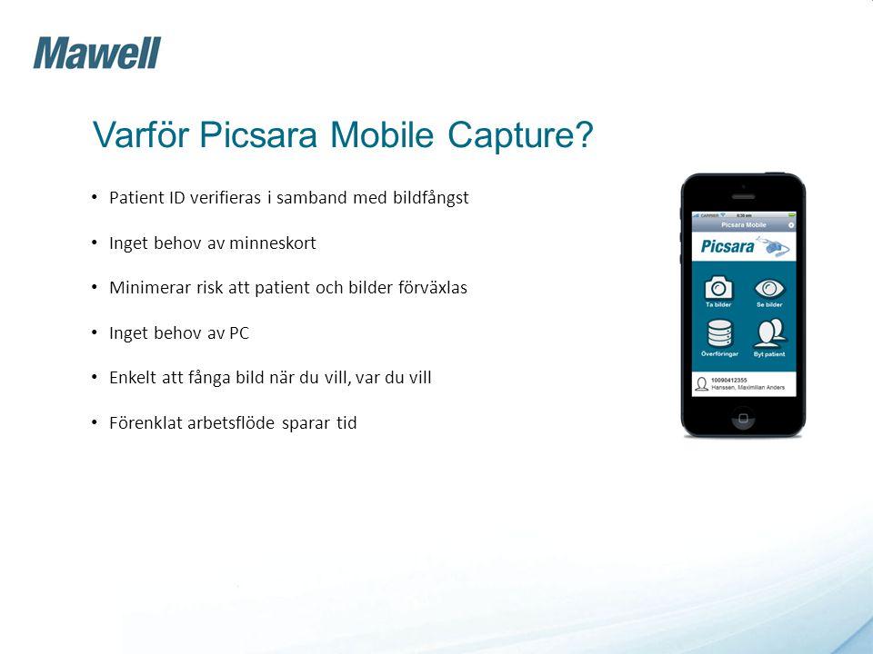 Varför Picsara Mobile Capture