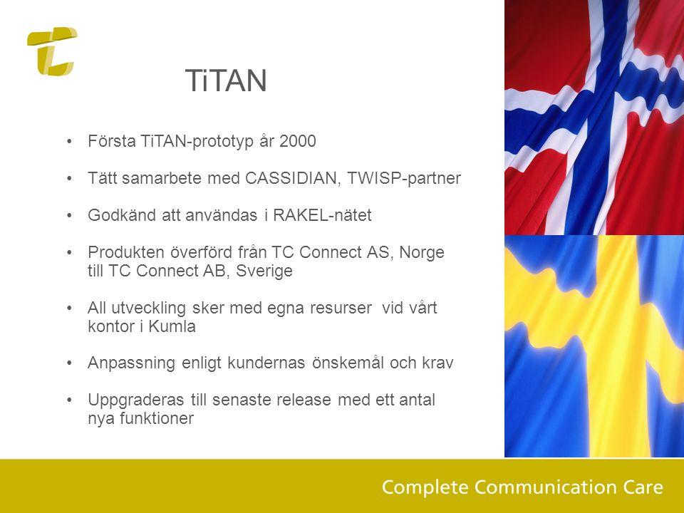 TiTAN Första TiTAN-prototyp år 2000