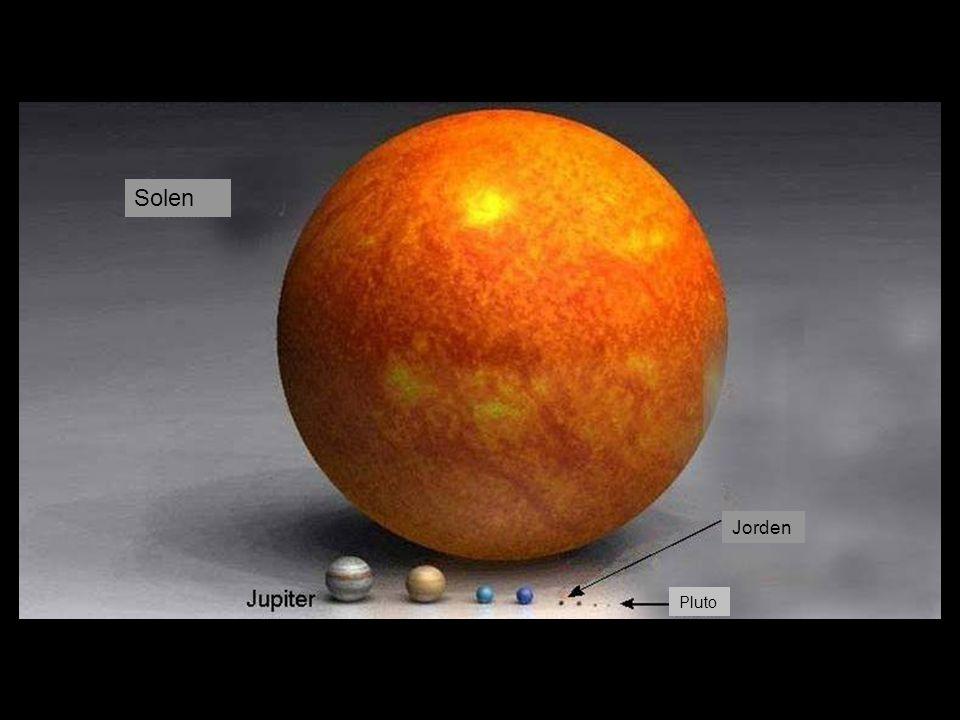 Solen Jorden Pluto