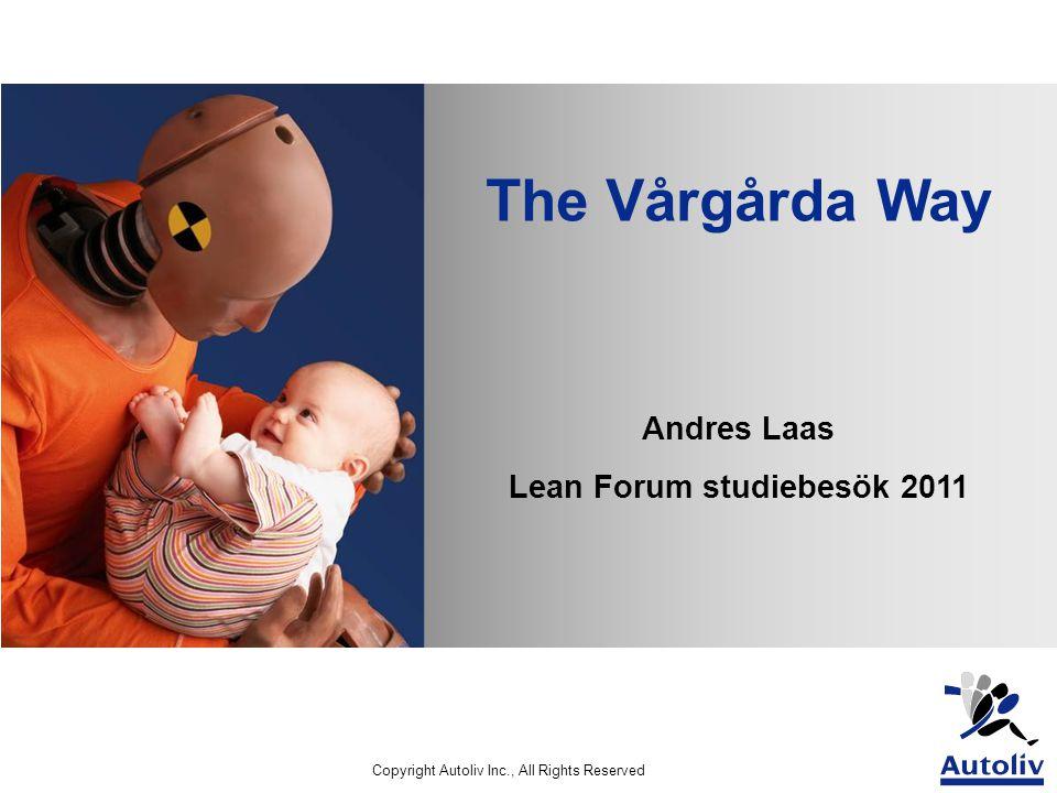 Lean Forum studiebesök 2011