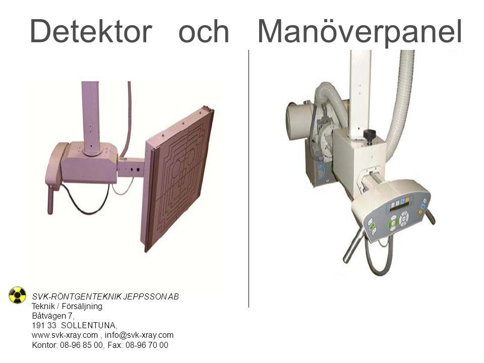 Detektor och Manöverpanel