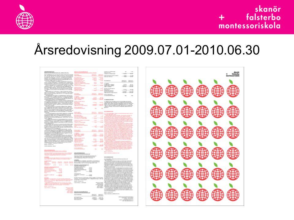 Årsredovisning 2009.07.01-2010.06.30