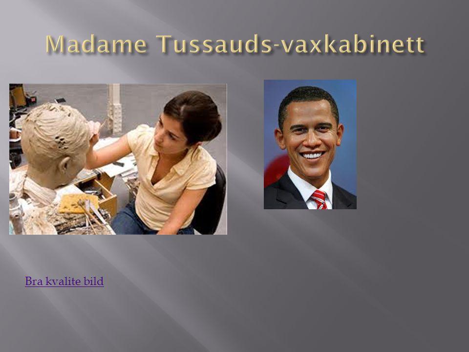Madame Tussauds-vaxkabinett