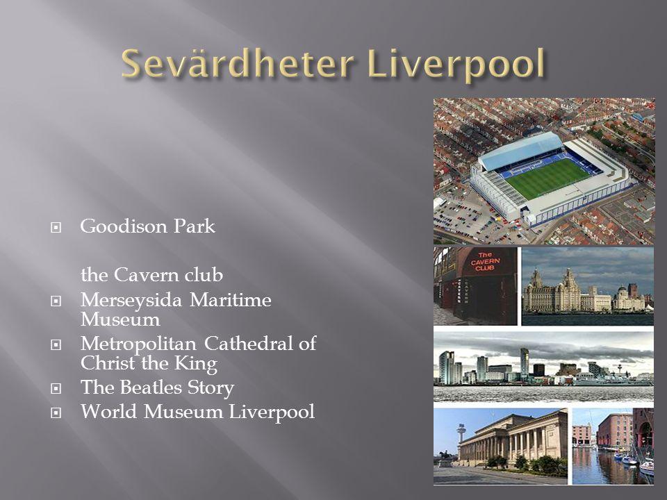 Sevärdheter Liverpool