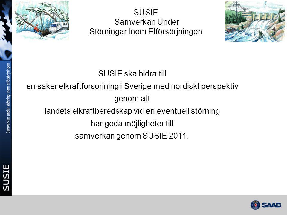 SUSIE Samverkan Under Störningar Inom Elförsörjningen