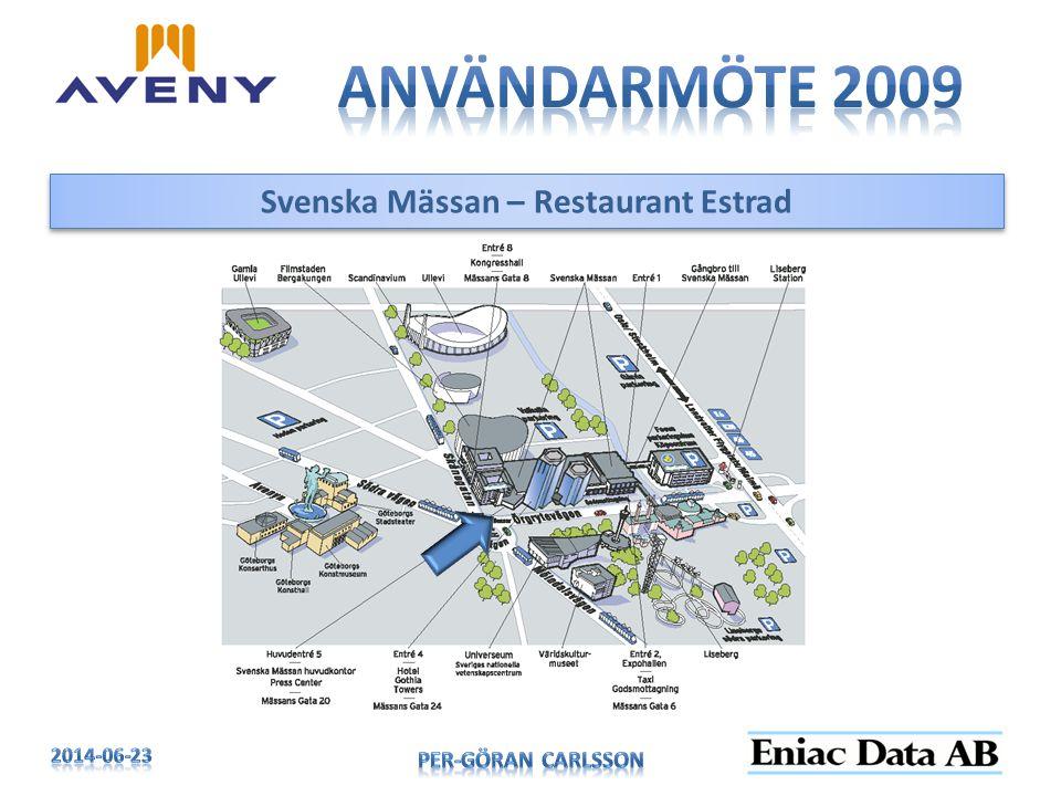 Svenska Mässan – Restaurant Estrad