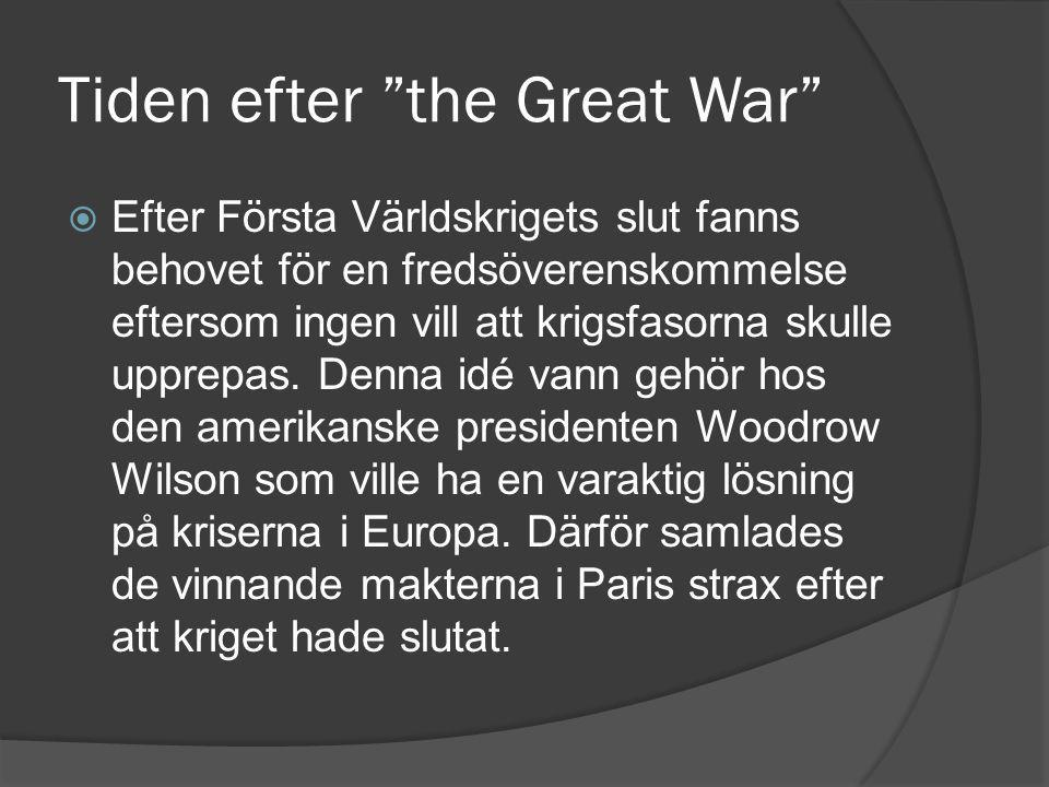 Tiden efter the Great War
