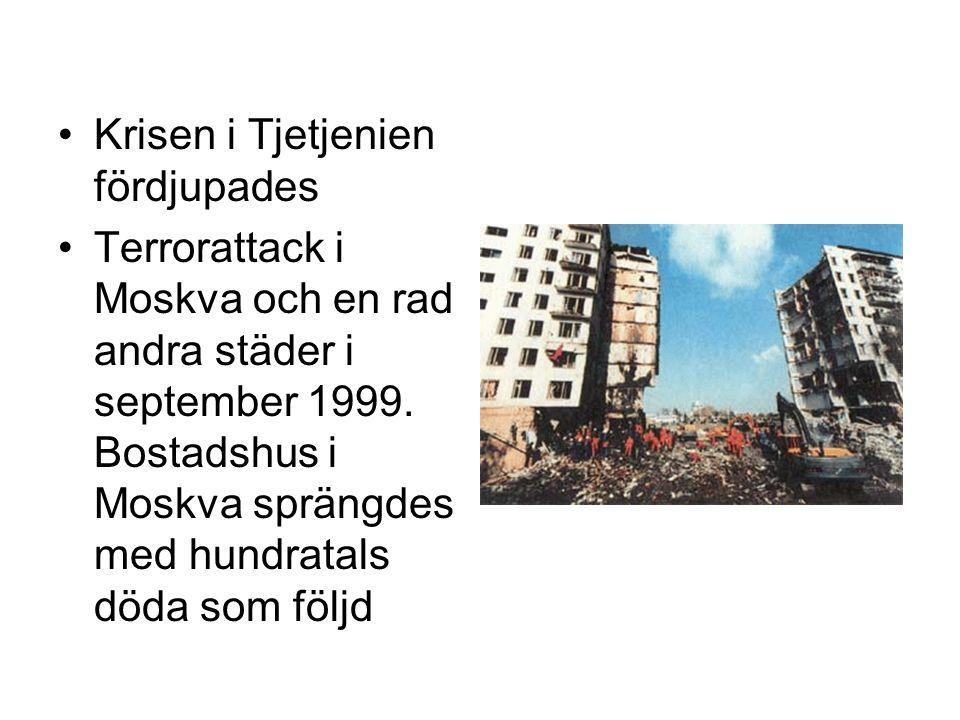 Krisen i Tjetjenien fördjupades