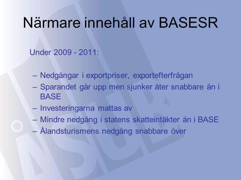 Närmare innehåll av BASESR