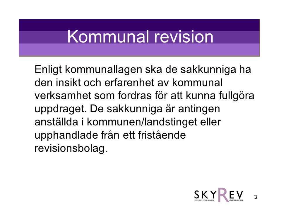 Kommunal revision