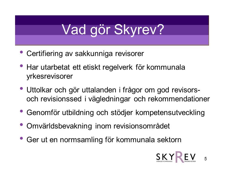 Vad gör Skyrev Certifiering av sakkunniga revisorer