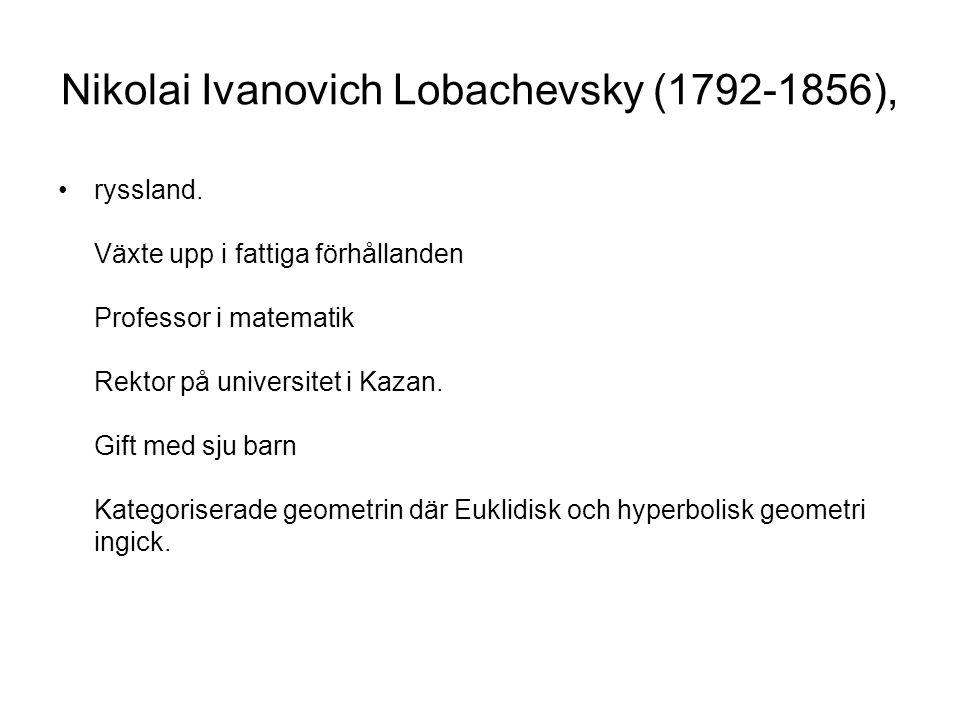 Nikolai Ivanovich Lobachevsky (1792-1856),