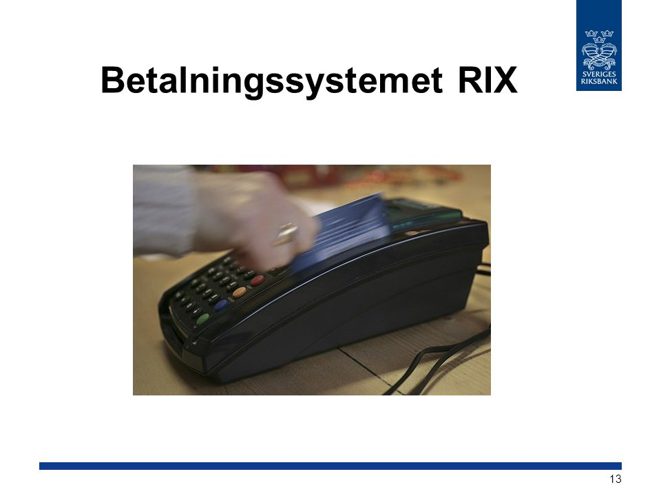 Betalningssystemet RIX