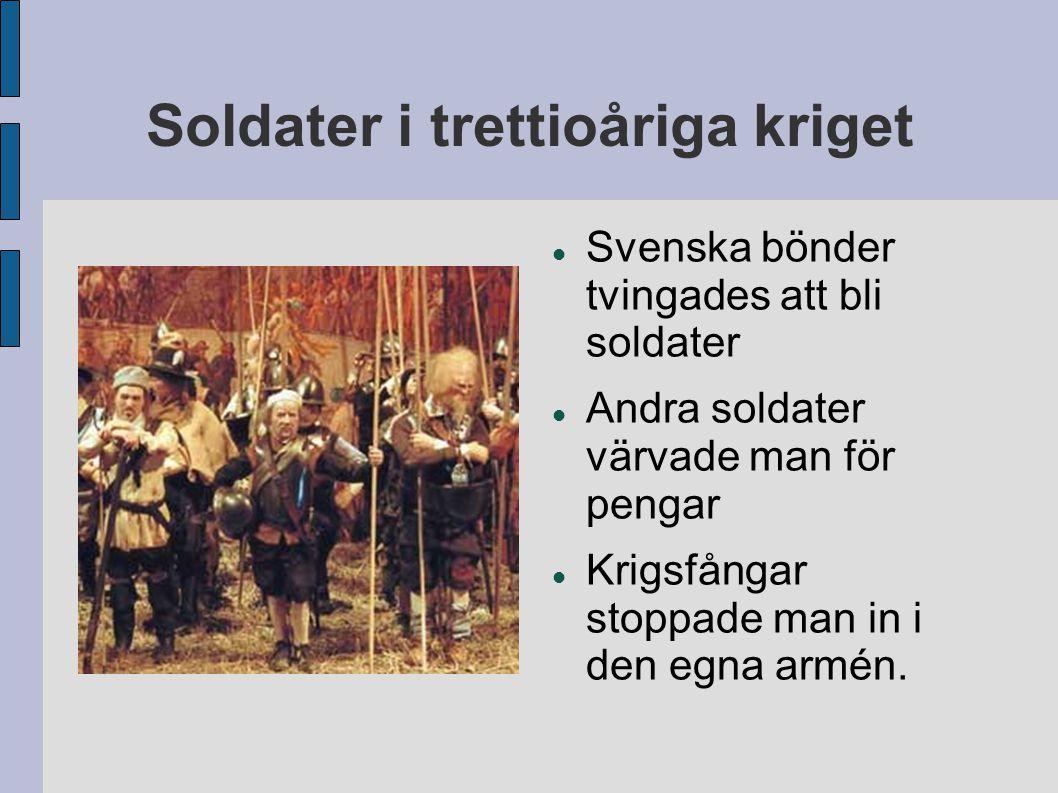 Soldater i trettioåriga kriget
