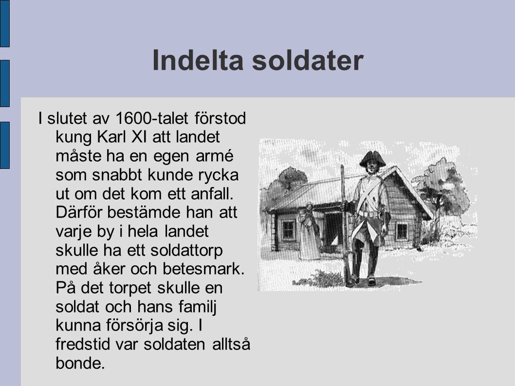 Indelta soldater