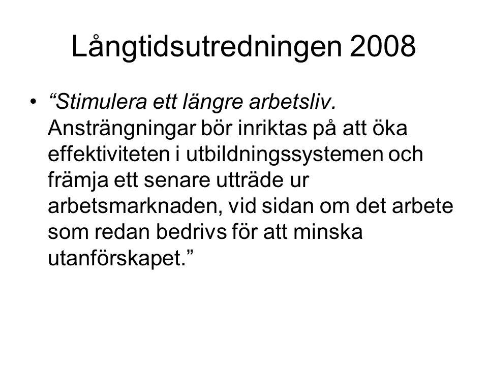 Långtidsutredningen 2008