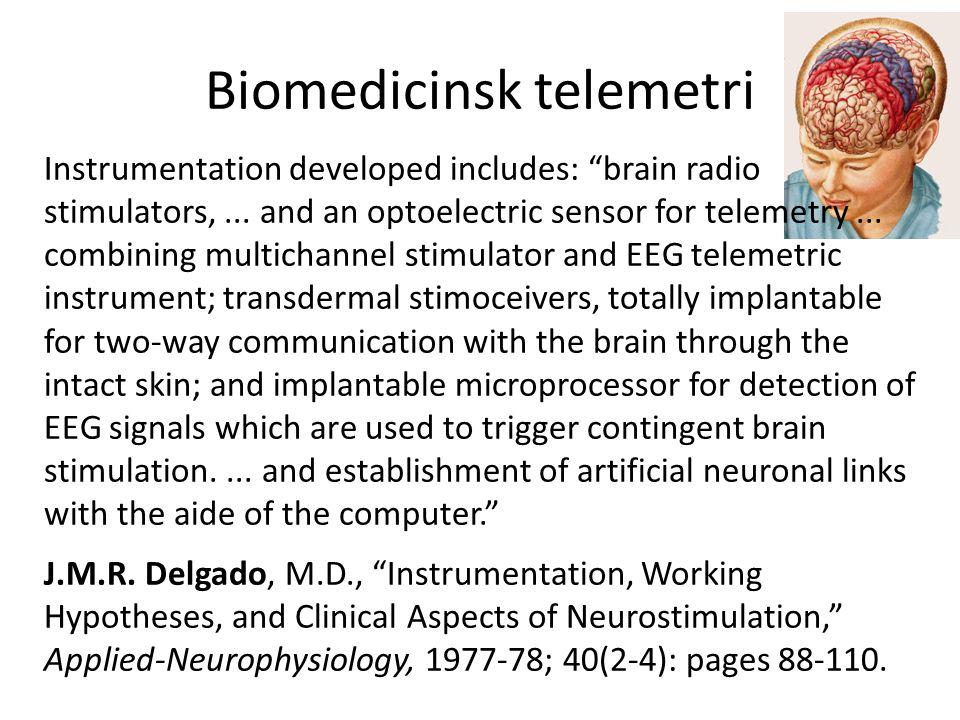 Biomedicinsk telemetri