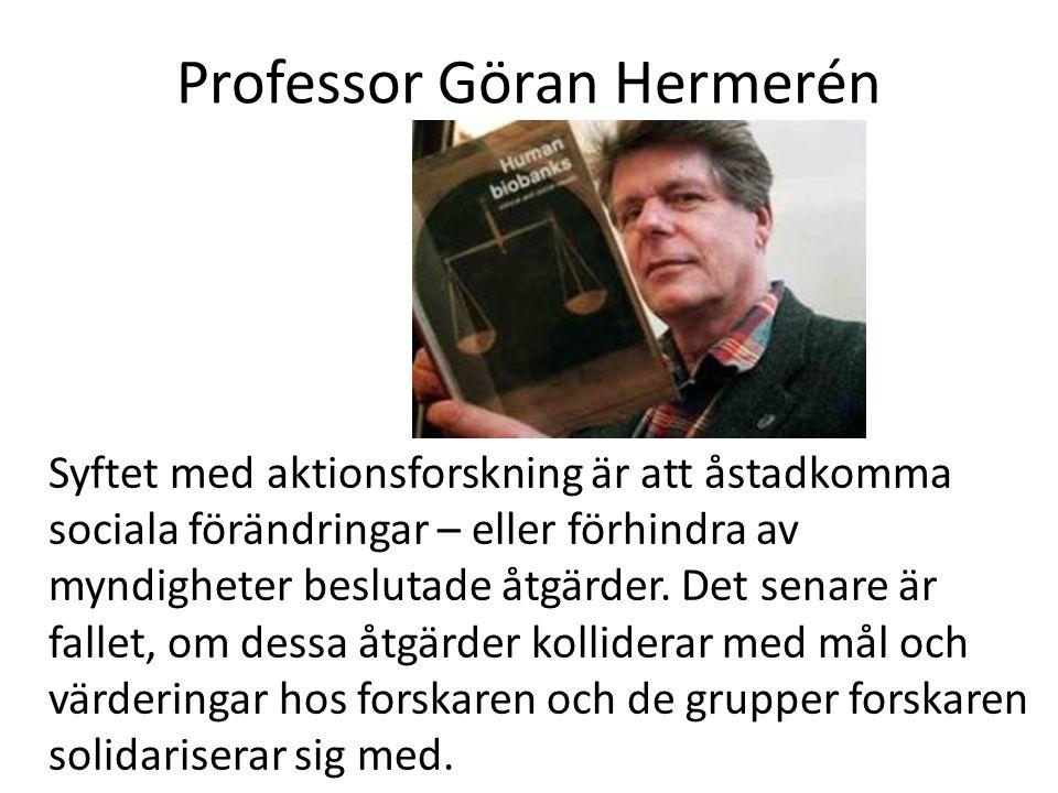Professor Göran Hermerén