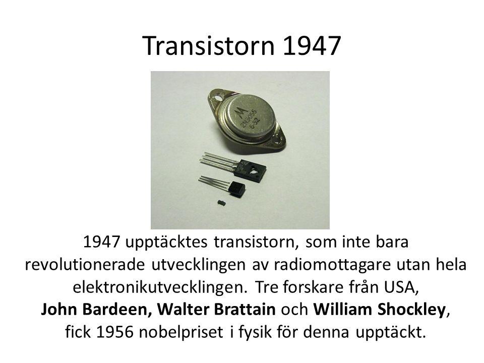 Transistorn 1947