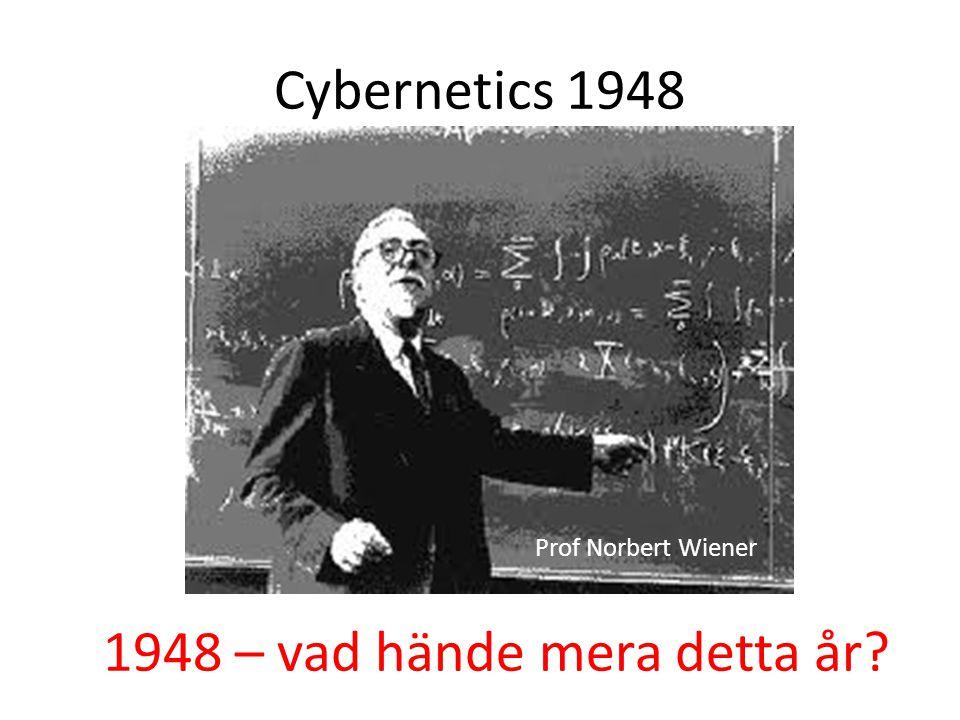1948 – vad hände mera detta år