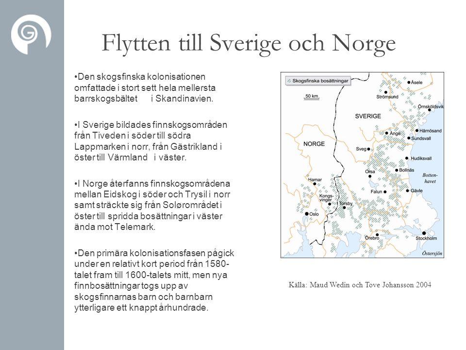 Flytten till Sverige och Norge