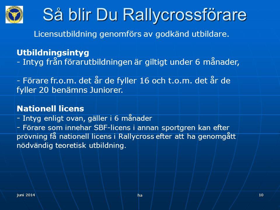 Så blir Du Rallycrossförare