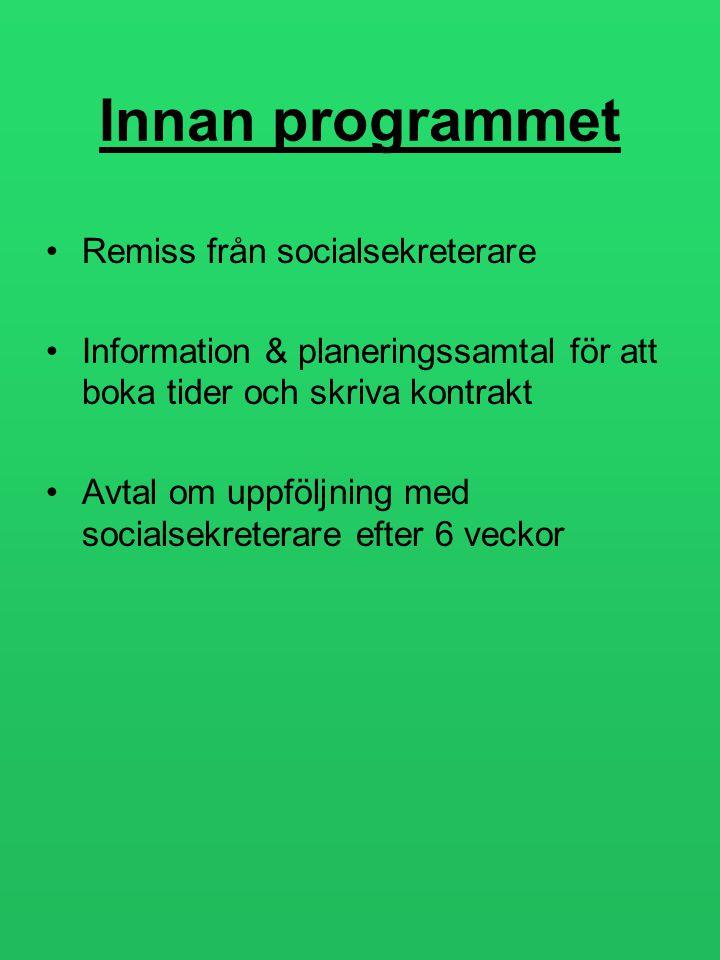 Innan programmet Remiss från socialsekreterare