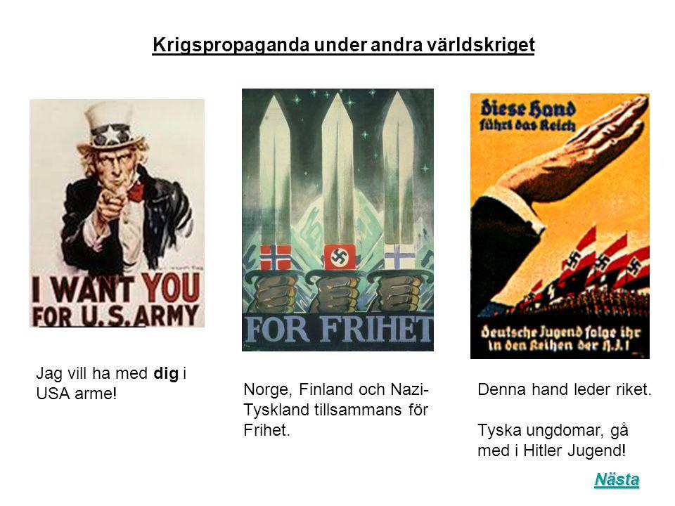Krigspropaganda under andra världskriget
