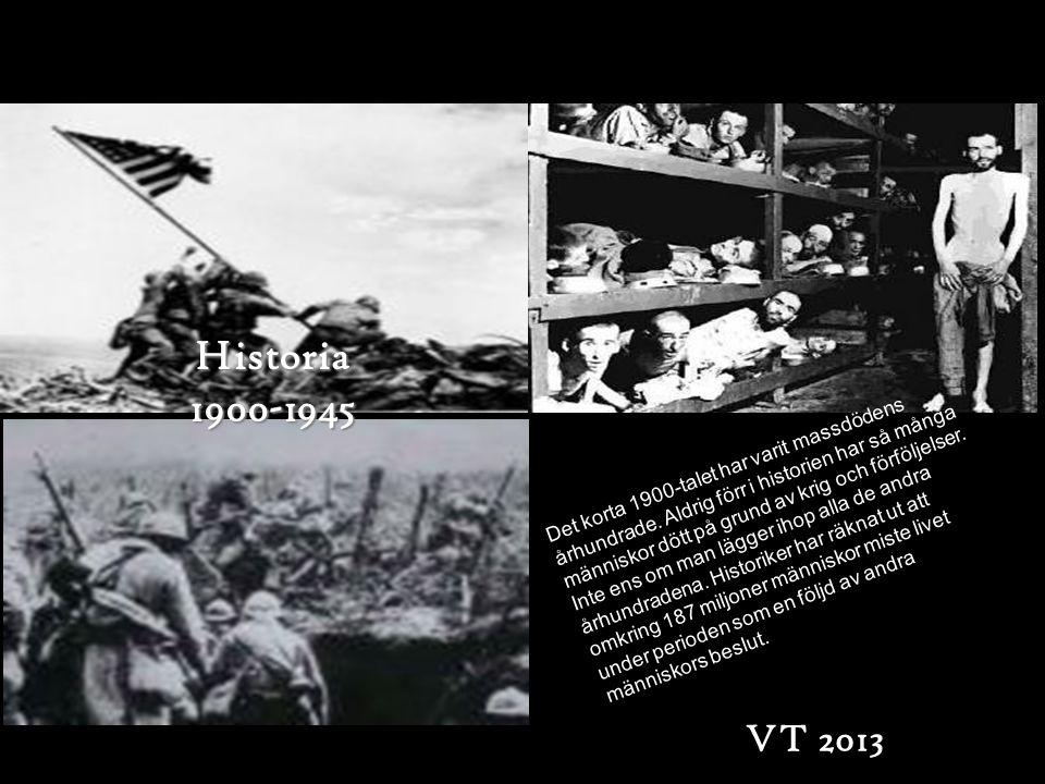 Historia 1900-1945