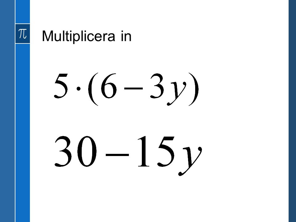 Multiplicera in