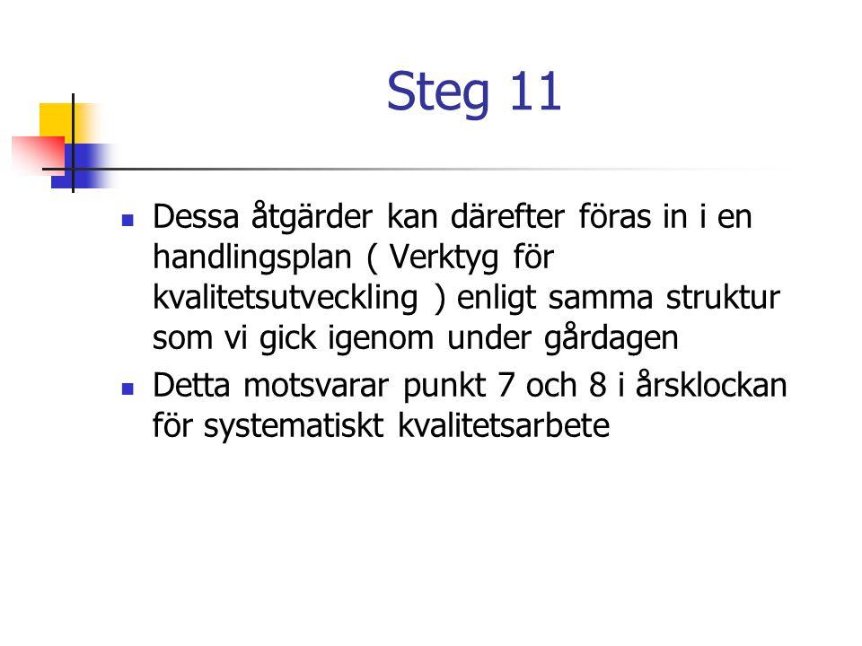 Steg 11