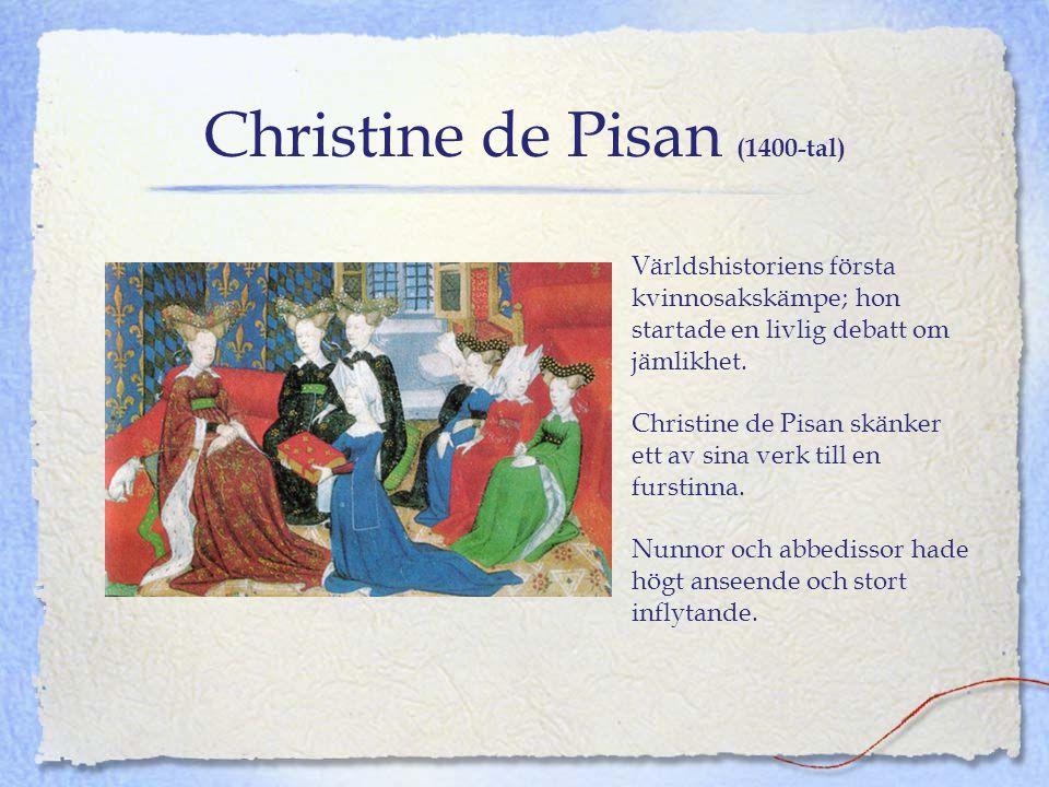 Christine de Pisan (1400-tal)