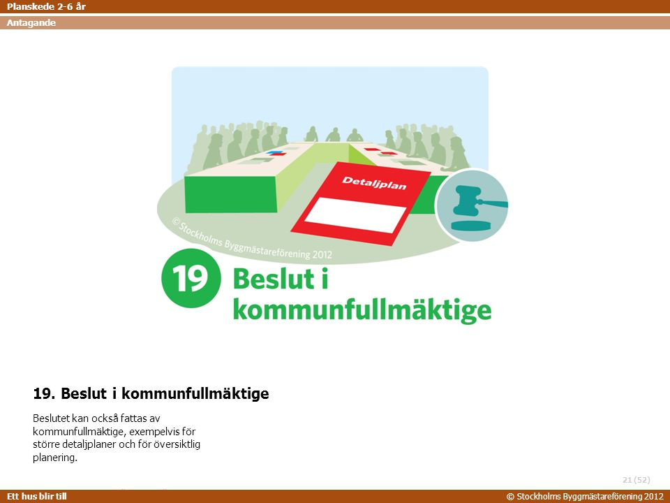 19. Beslut i kommunfullmäktige