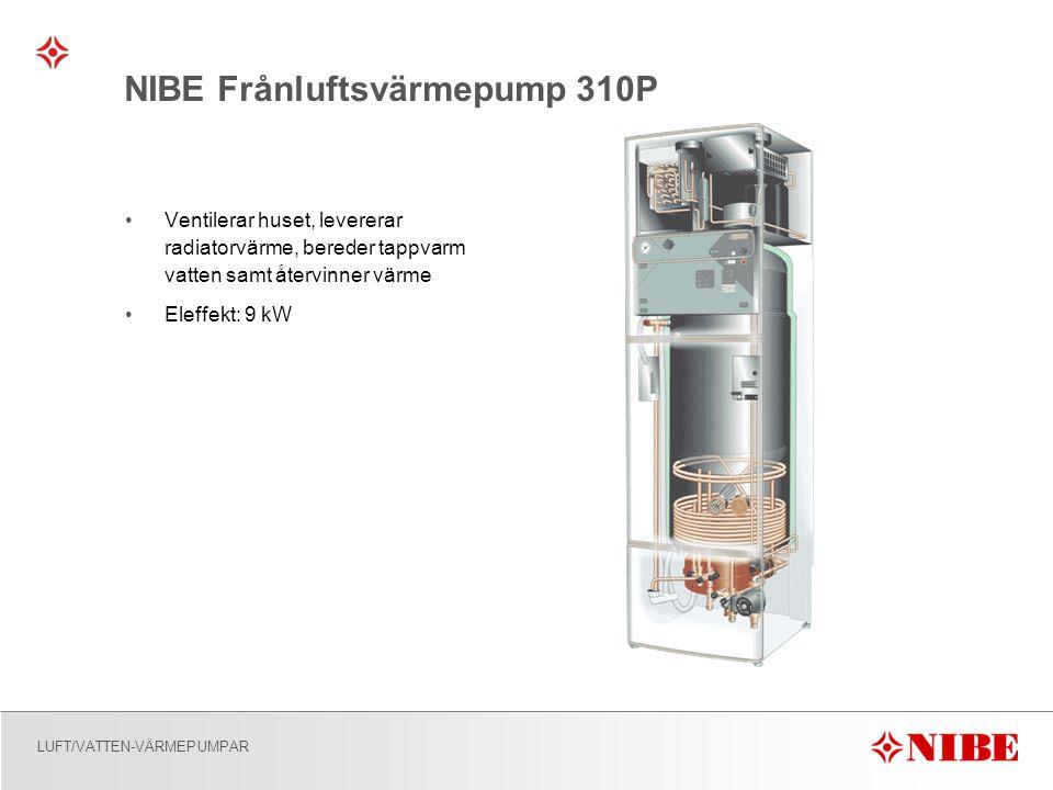 NIBE Frånluftsvärmepump 310P