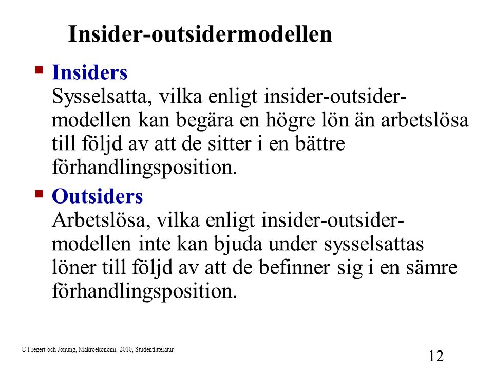 Insider-outsidermodellen