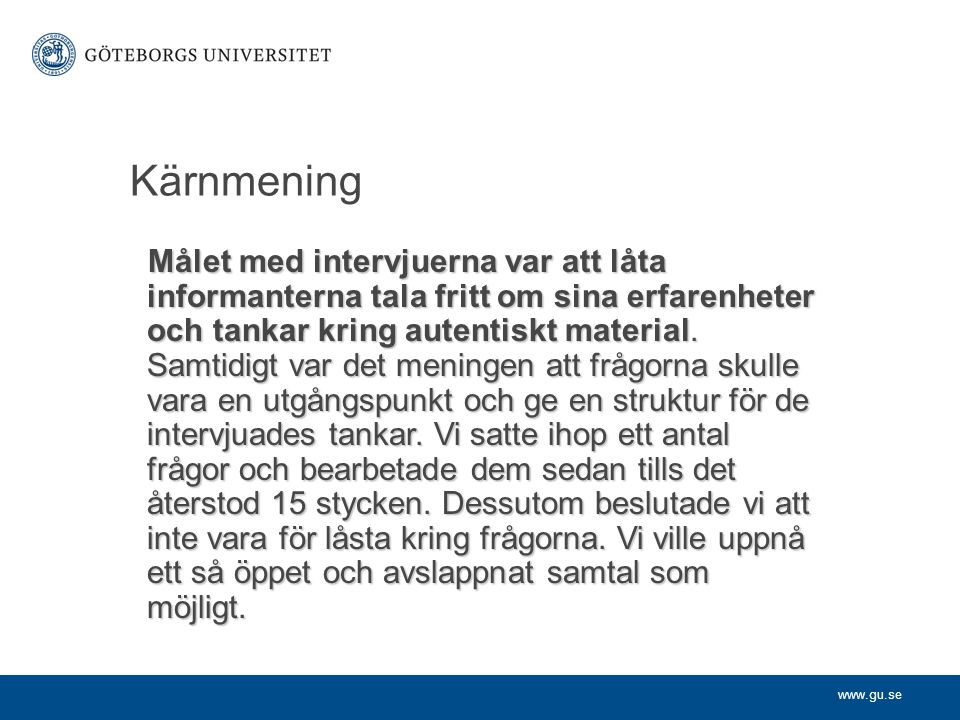 Kärnmening