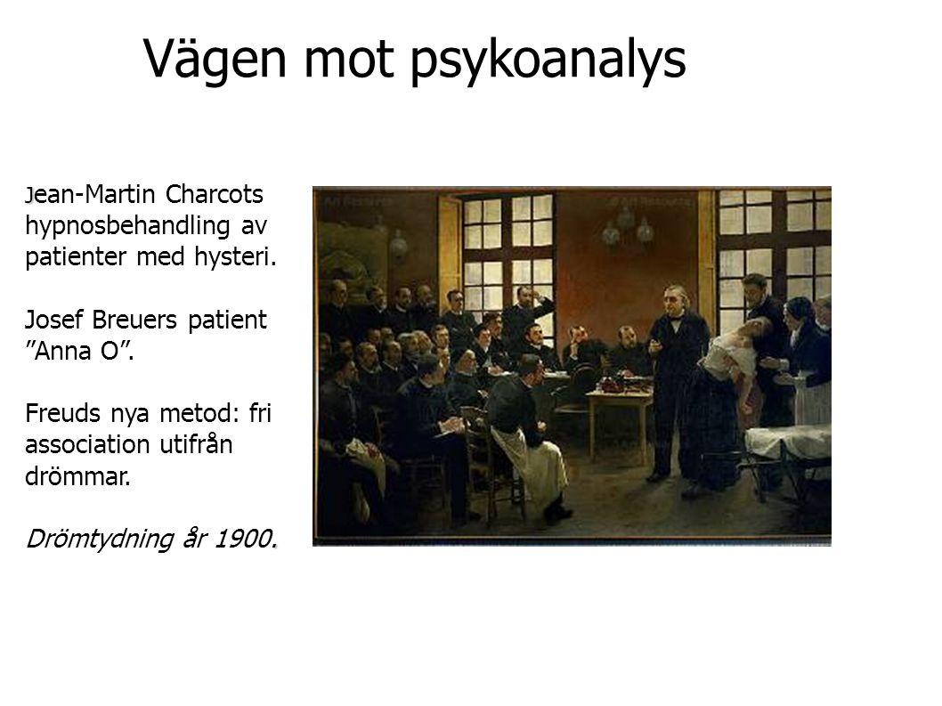 Vägen mot psykoanalys Josef Breuers patient Anna O .