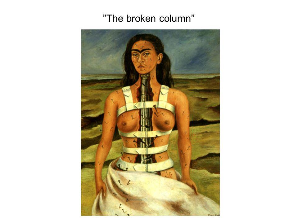 The broken column